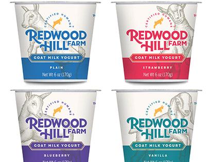 Redwood Hill Farm Label illustrations by Steven Noble