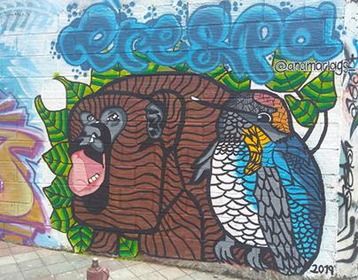 """MURALES / Mural, """"Toma La 21"""""""