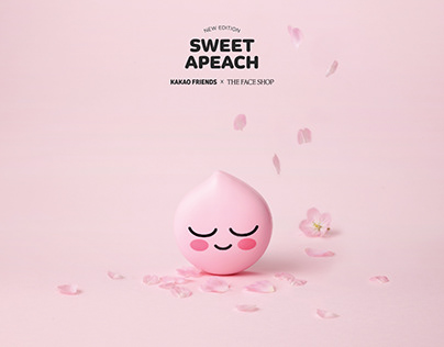 APEACH x THEFACESHOP collaboration
