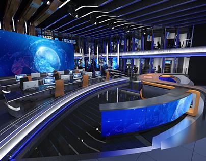 Russia 1 | Vesti news studio concept