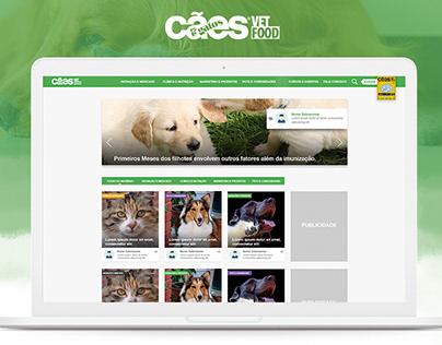 Cães & Gatos - UX/UI Design