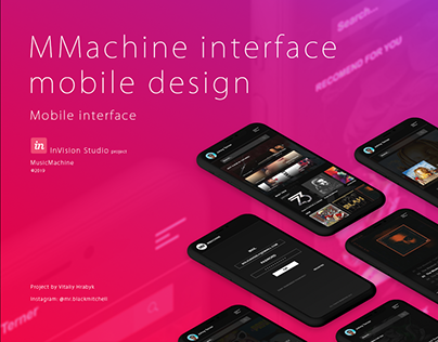 MMACHINE - MOBILE DESIGN | ▲ 2019