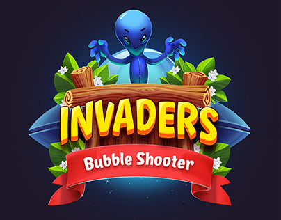 Invaders - Bubble shooter