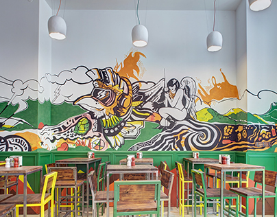 Tsypa Craft Pub – Lviv – renovation project