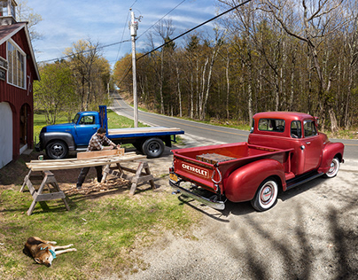 Chevrolet 3100 & 6400