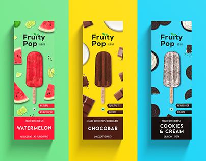 Fuirty Pop   Ice Cream Packaging