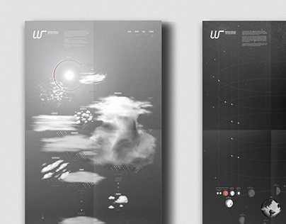 LOOK UP! : Cloud and Moon chart