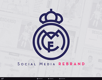 Real Madrid Social Rebrand