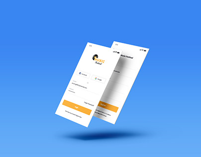 Sign Up Screen Design for Mobile Application