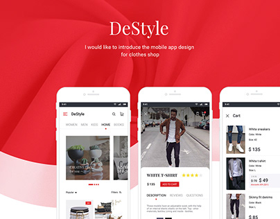 Mobile App DeStyle
