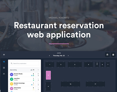 Restaurant Reservation Web Application