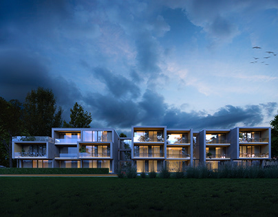 Residential project proposal, Latvia, Liepaja