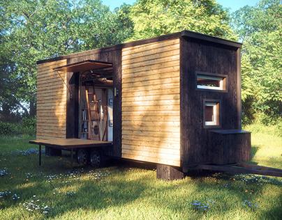 3D | Arch Viz | Tiny Home