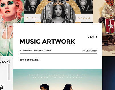 Music Artwork Vol. 1 - Covers redesigned