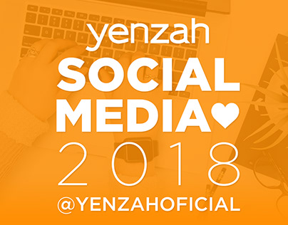 Conteúdo para as redes sociais da Yenzah Cosméticos.