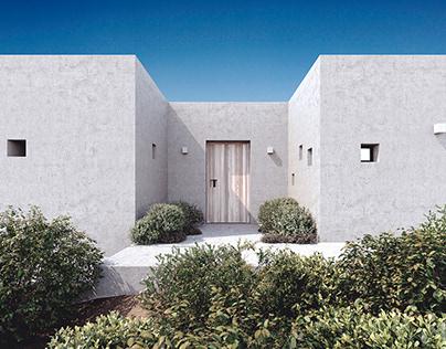 Villa on Paros