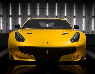 3 Steps - Ferrari F12 TDF Composition