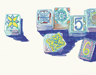 Marokko | Travel diary | Illustration
