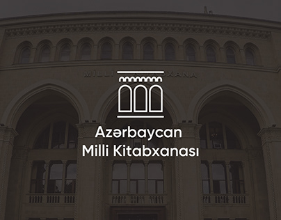 "Logo for ""Azerbaijan National Library"""