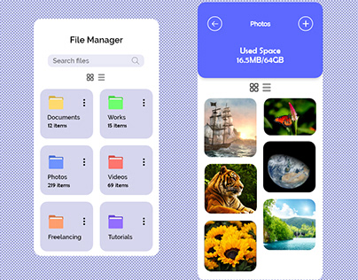 File Manager UI