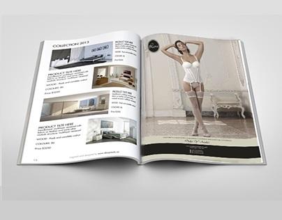 Marca Luxu, publicidad impresa.