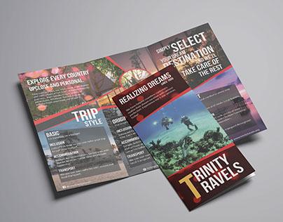 Brochure - Trinity Travels Trifold Brochure
