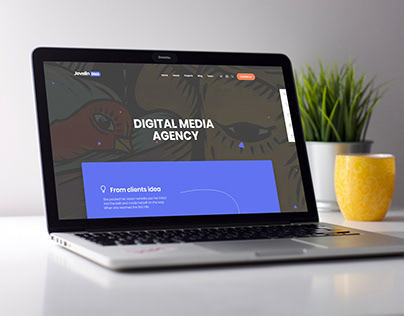 Laptop and mobile mockup premium PSD free download