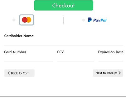 Daily UI Challenge: #002 Checkout