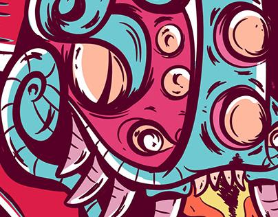 Xiuhcoatl- Serpiente de Fuego