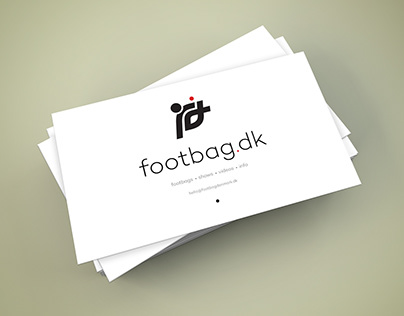 Business card for sport organization