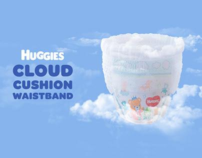 Social Media - Huggies Cloud Cushion Digital Campaign