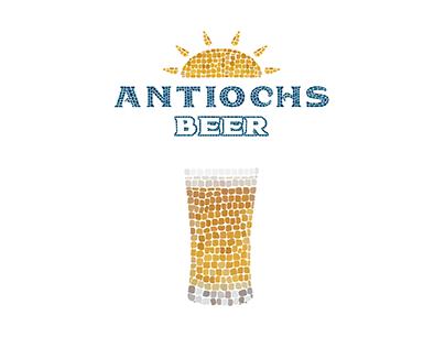 Antiochs Beer Packaging Design and Rebranding