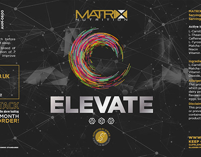 Matrix Nutrition Elevate Nootropic products