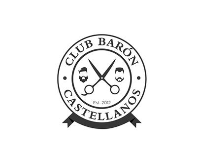 Marca Barbería Club Barón