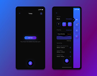 To Do App ( iOS ) - for designers - Uplabs Challenge