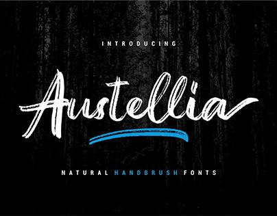 FREE Austellia Script Font