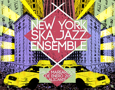 New York Ska-Jazz Ensemble in concert.