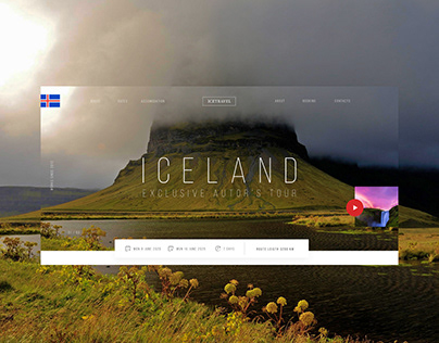 To Iceland UI/UX