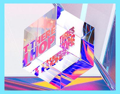 3D Cube Design   Never Lose Faith