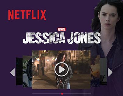 Netflix Redesign - Jessica Jones