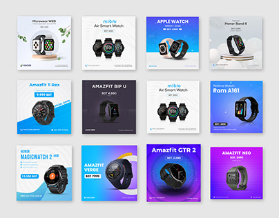 Clients Edition : Smart Watch Social media banner