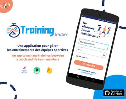 TrainingTRACKER Android App