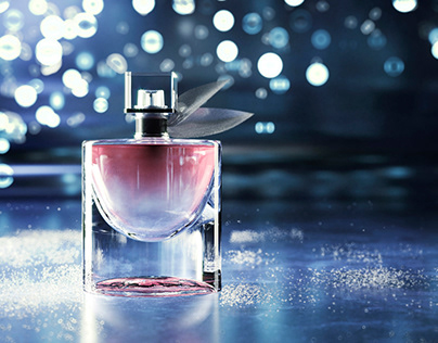 Visualization and animation of perfumery products