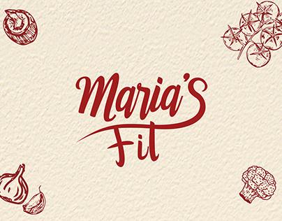 Identidade Visual e Embalagem - Maria's Fit
