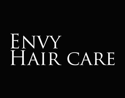 Envy Haircare redesign
