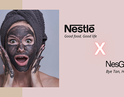 Nestle Brand Extension Concept - NesGlow Selfcare