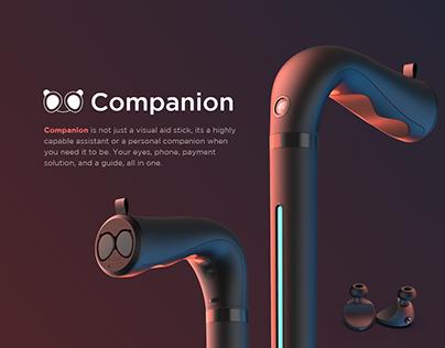 Companion - A Smart Visual Aid Stick