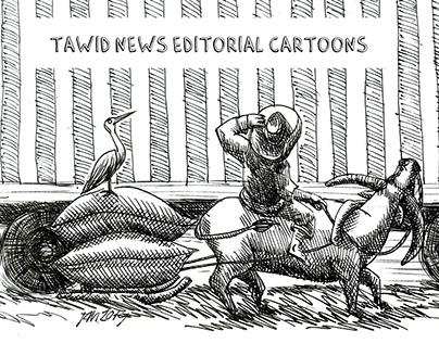 Tawid News Editorial Cartoons