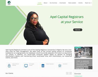APEL ASSET, APEL CAPITAL AND APEL REGISTRARS WEBSITES.