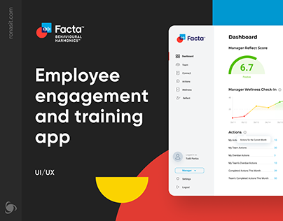 HR Management Software | UI/UX Website for Facta™
